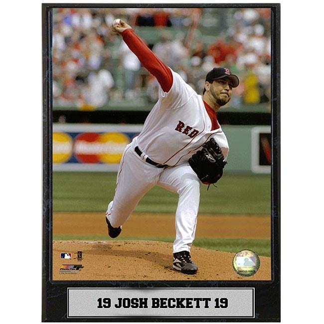Josh Beckett 9x12 Baseball Photo Plaque