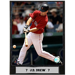 J.D. Drew 9x12 Baseball Photo Plaque