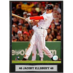 Jacoby Ellsbury 9x12 Baseball Photo Plaque - Thumbnail 0
