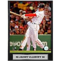 Jacoby Ellsbury 9x12 Baseball Photo Plaque