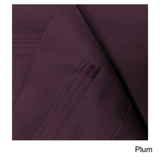 Superior Egyptian Cotton 650 Thread Count Deep Pocket Solid Sheet Set (More options available)