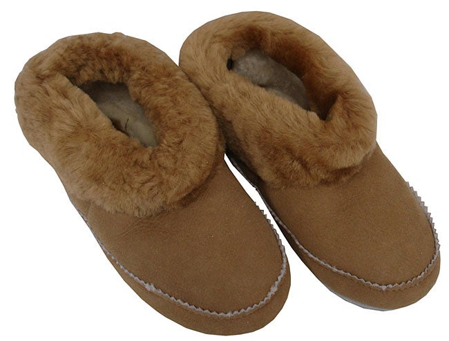 Amerileather Shearling Low-top Slippers - Thumbnail 0