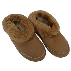 Amerileather Shearling Low-top Slippers|https://ak1.ostkcdn.com/images/products/3308752/Amerileather-Double-Faced-Shearling-Low-top-Slippers-P11406319.jpg?_ostk_perf_=percv&impolicy=medium