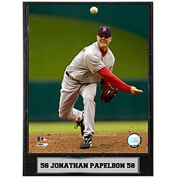 Jonathan Papelbon 9x12 Baseball Photo Plaque
