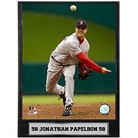 Jonathan Papelbon 9x12 Baseball Photo Plaque