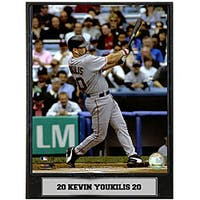 Kevin Youkilis 9x12 Baseball Photo Plaque