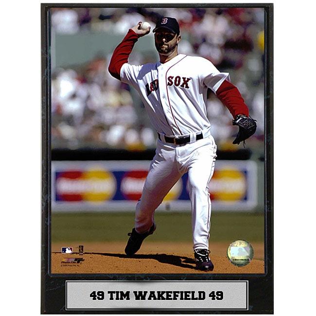 Tim Wakefield 9x12 Baseball Photo Plaque