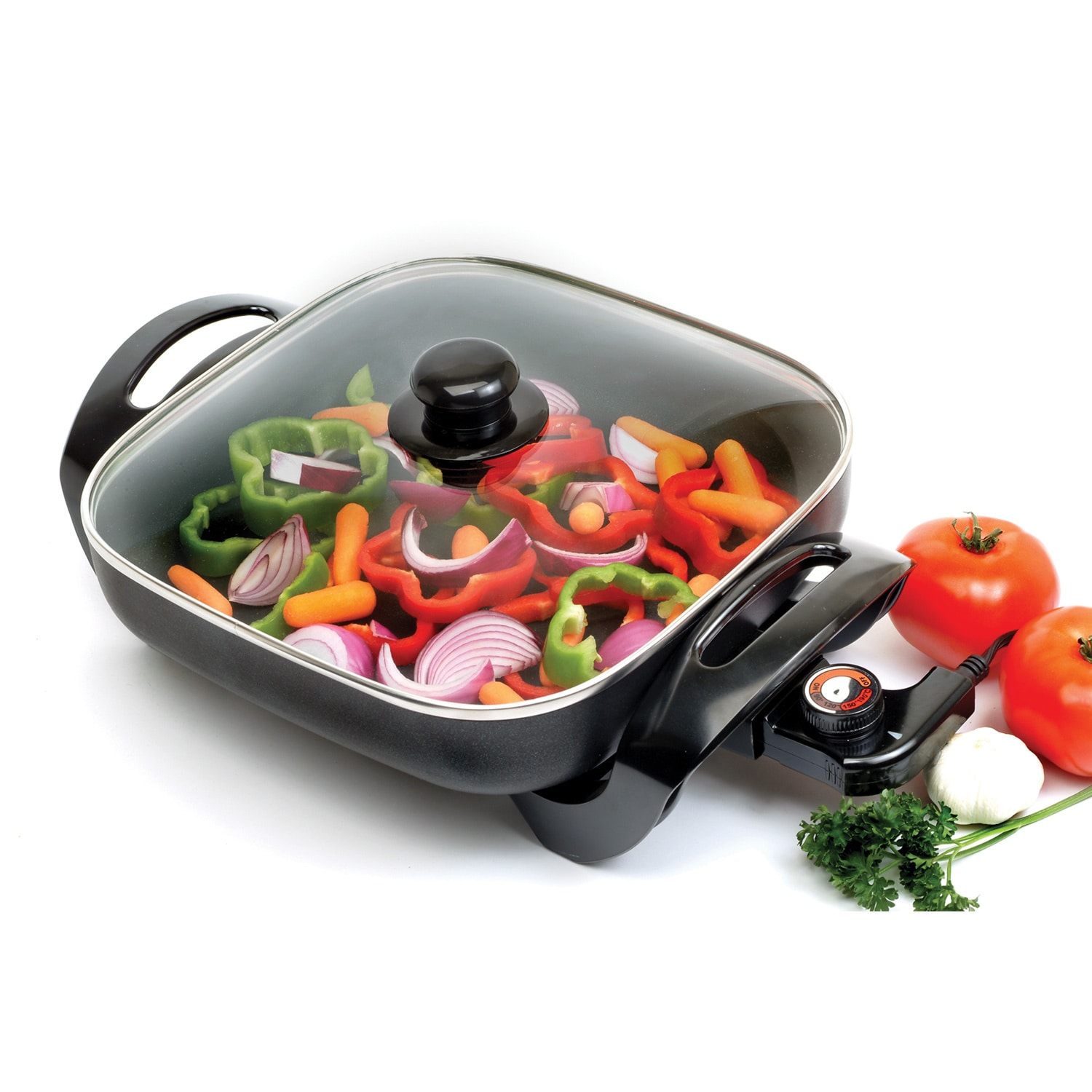 Elite Systems Nonstick 12-inch Electric Skillet (12-inch ...