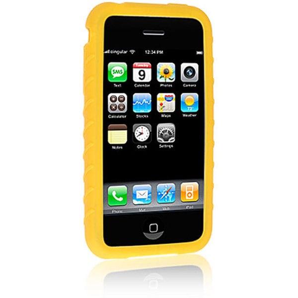iPhone 3G Premium Yellow Silicone Skin