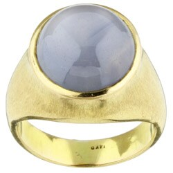 Pre-owned 14k Yellow Gold and Star Sapphire Ring
