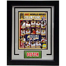 Boston Red Sox 2007 11x14 Deluxe Frame