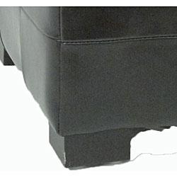 Safavieh Small Black Manhattan Storage Bench - Thumbnail 2