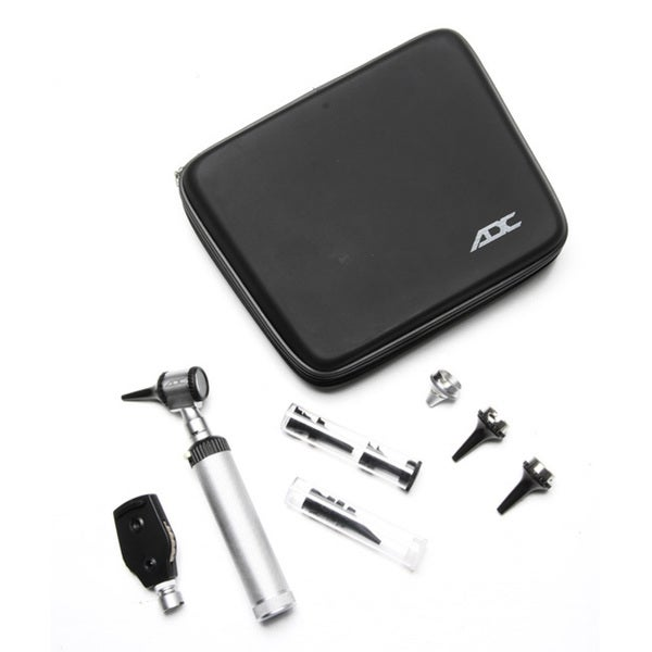 ADC 5210 Standard 2.5-volt Portable Ophthalmoscope and Otoscope Diagnostic Set
