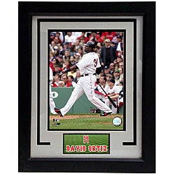 Boston Red Sox David Ortiz 11x14 Deluxe Baseball Frame