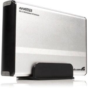 StarTech.com 3.5in Silver USB 2.0 to SATA External Hard Drive Enclosu