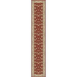 Safavieh Lyndhurst Traditional Oriental Burgundy/ Ivory Runner (2'3 x 14')