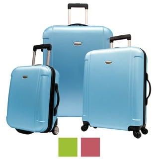Traveler's Choice Freedom 3-piece Hardside Spinner Luggage Set