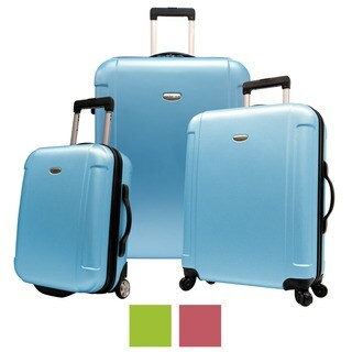Traveler's Choice Freedom 3-piece Hardside Spinner Luggage Set