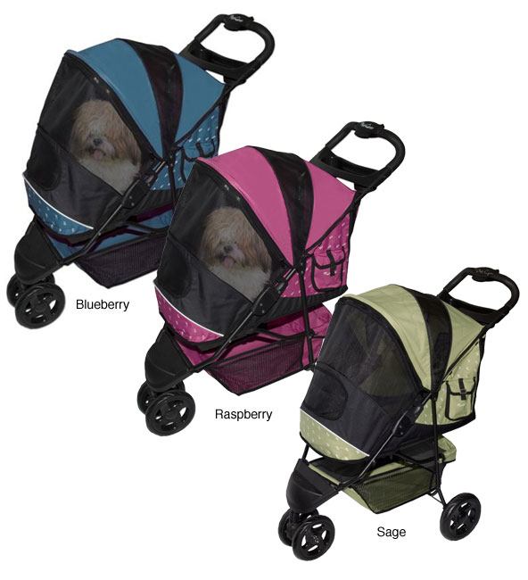 PetGear Special Edition Convenient Stylish Stroller (Up to 45 pounds) - Thumbnail 0