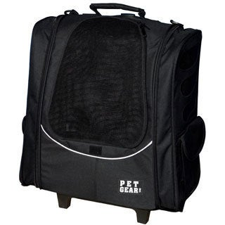 Pet Gear I-GO2 Escort Pet Backpack and Carrier with Wheels