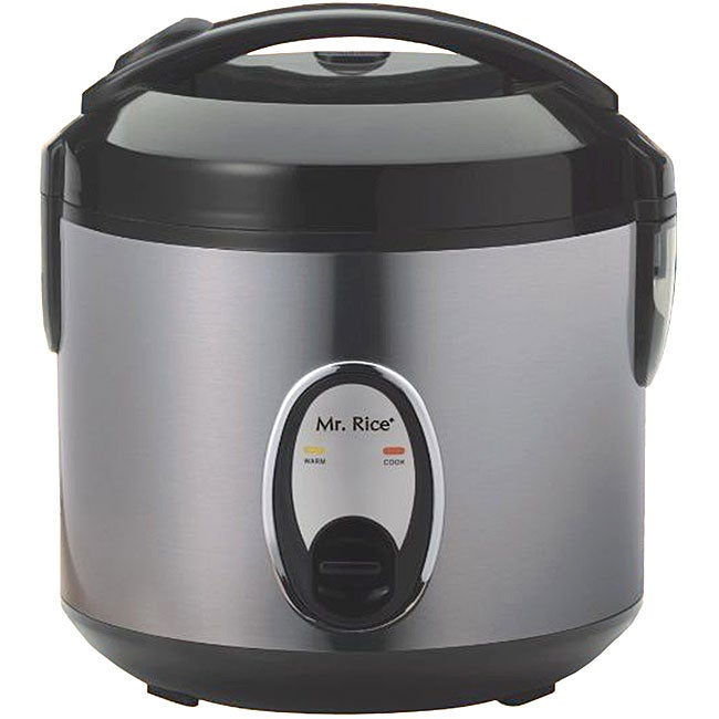 Stainless Steel 6-cup Rice Cooker - Thumbnail 0