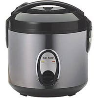 Stainless Steel 6-cup Rice Cooker