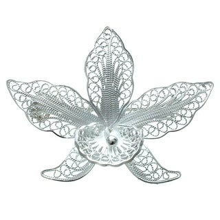 'Orchid Filigree' Brooch (Indonesia)