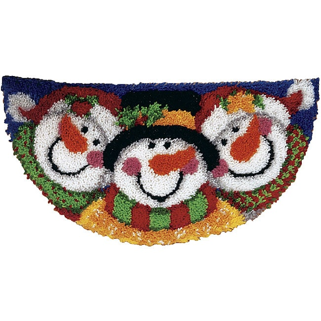 Shop Wonderart Merry Men Latch Hook Rug Kit