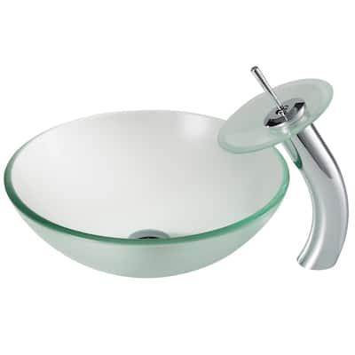 Grey Vessel Kraus Bathroom Sinks