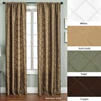 Ashford Rod Pocket 96-inch Curtain Panel - 55 x 96