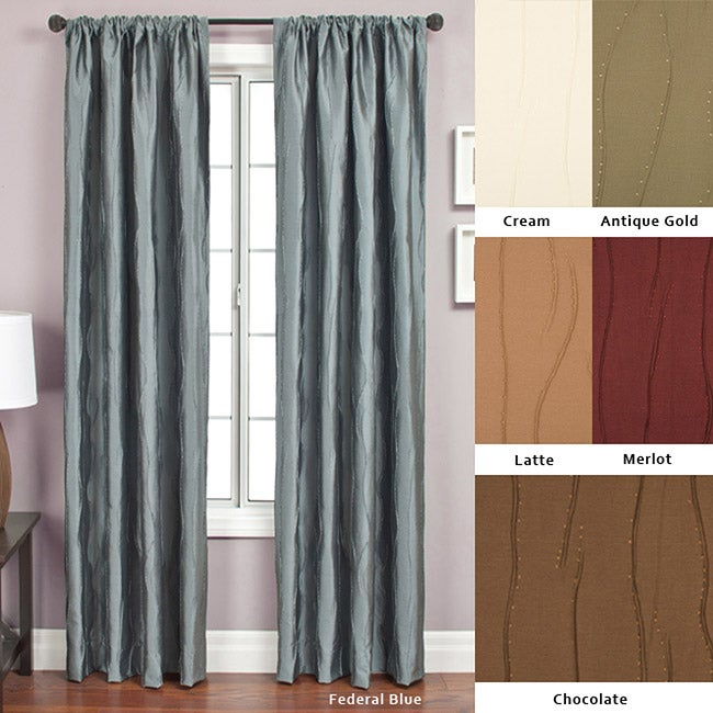 Softline Bon Rod Pocket 108-inch Curtain Panel - 55 x 108