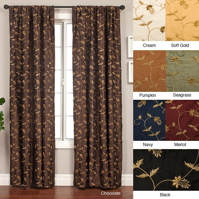 Chopin Rod Pocket 108-inch Curtain Panel - 55 x 96