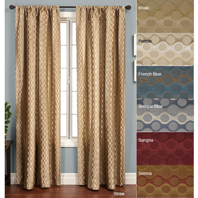 Duchess Circles Rod Pocket 96-inch Panel