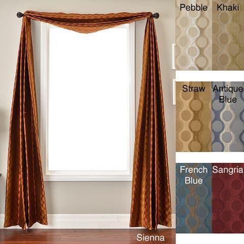 Softline Duchess Circles 6-yard Window Scarf