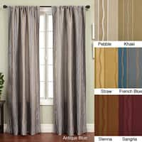 Softline Duchess Stripe Rod Pocket 96-inch Panel - 55 x 96