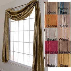 Softline Duchess Stripe 6-yard Scarf Valance