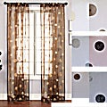 Softline Dots Embroidered 96-inch Sheer Panel