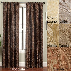 Softline Geneva Rod Pocket 108-inch Curtain Panel - 53 x 108