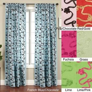 Softline Heaven Rod Pocket 120-inch Curtain Panel