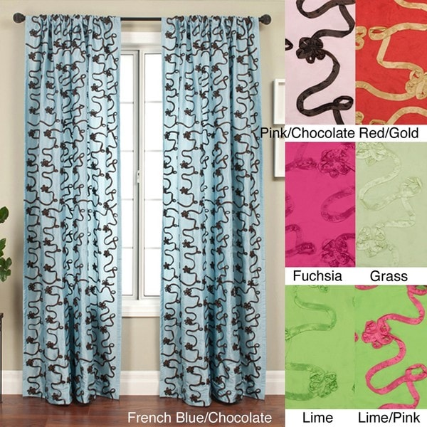 Softline Heaven Rod Pocket 96-inch Curtain Panel