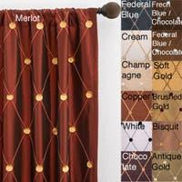 Softline Helena Rod Pocket 108-inch Curtain Panel