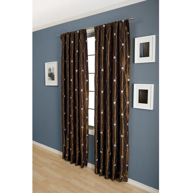 Helena Rod Pocket 96-inch Curtain Panel