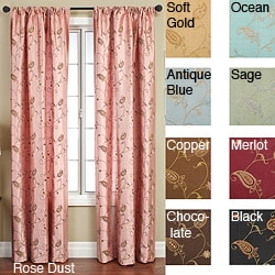 Softline Jakarta Rod Pocket 108-inch Curtain Panel