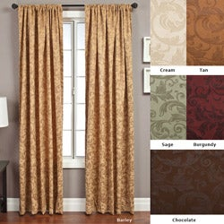 Softline Livingston Rod Pocket 120-inch Curtain Panel - 56 x 120