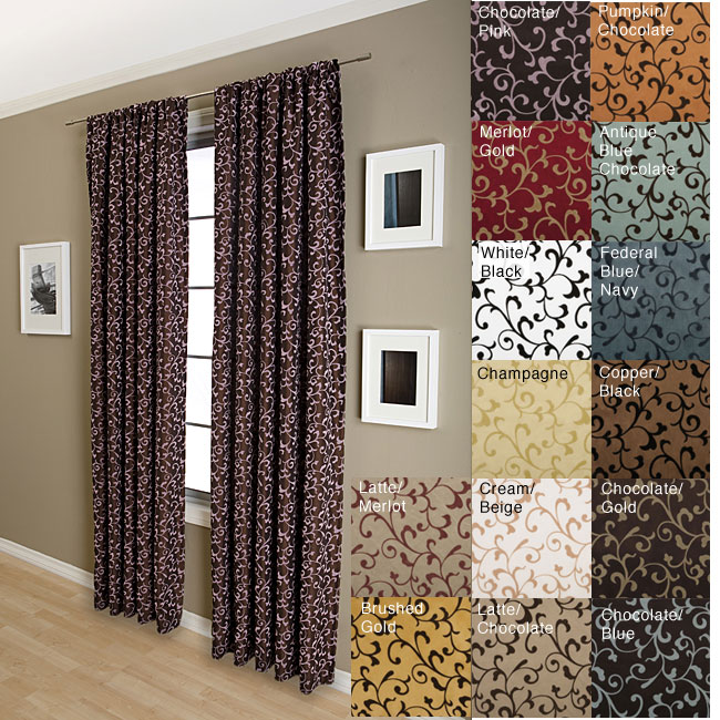 Shop Malta Rod Pocket 84 Inch Curtain Panel 55 X 84