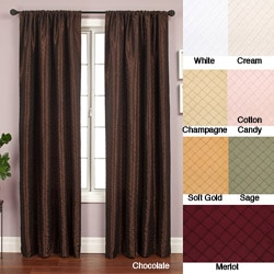 Softline Shire Pintuck Taffeta 96-inch Curtain Panel