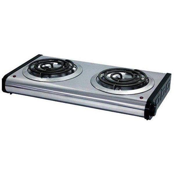 Portable Two-burner Electric Stove