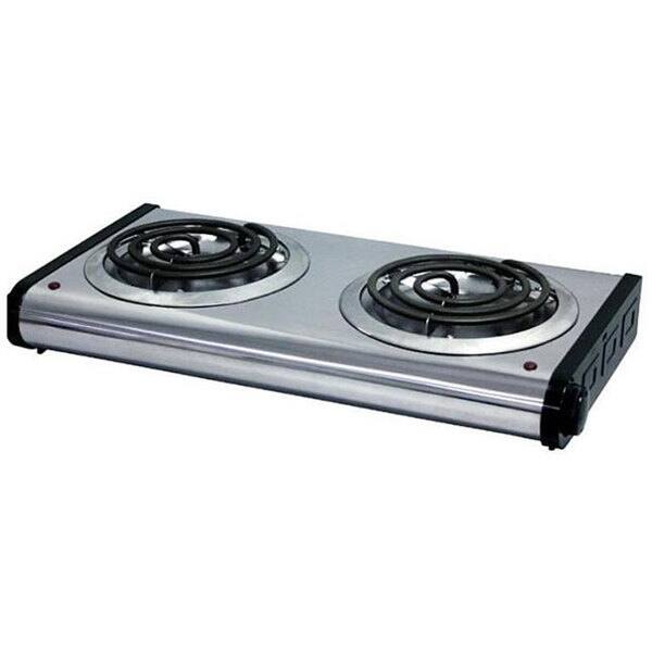 Portable Two Burner Electric Stove