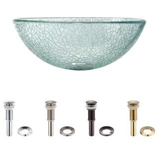 Kraus Mosaic Glass 14 -inch Vessel Sink