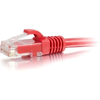 50ft Cat5e Snagless Unshielded (UTP) Network Patch Cable - Red
